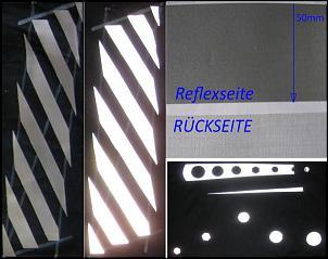 reflektorband reflexstreifen warnstreifen leuchtstreifen. Black Bedroom Furniture Sets. Home Design Ideas
