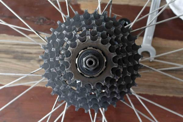Fahrrad kassette wechseln
