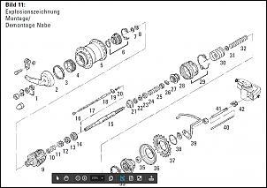 Sachs/SRAM Spectro S7 Montagehilfe für Planetenradträger