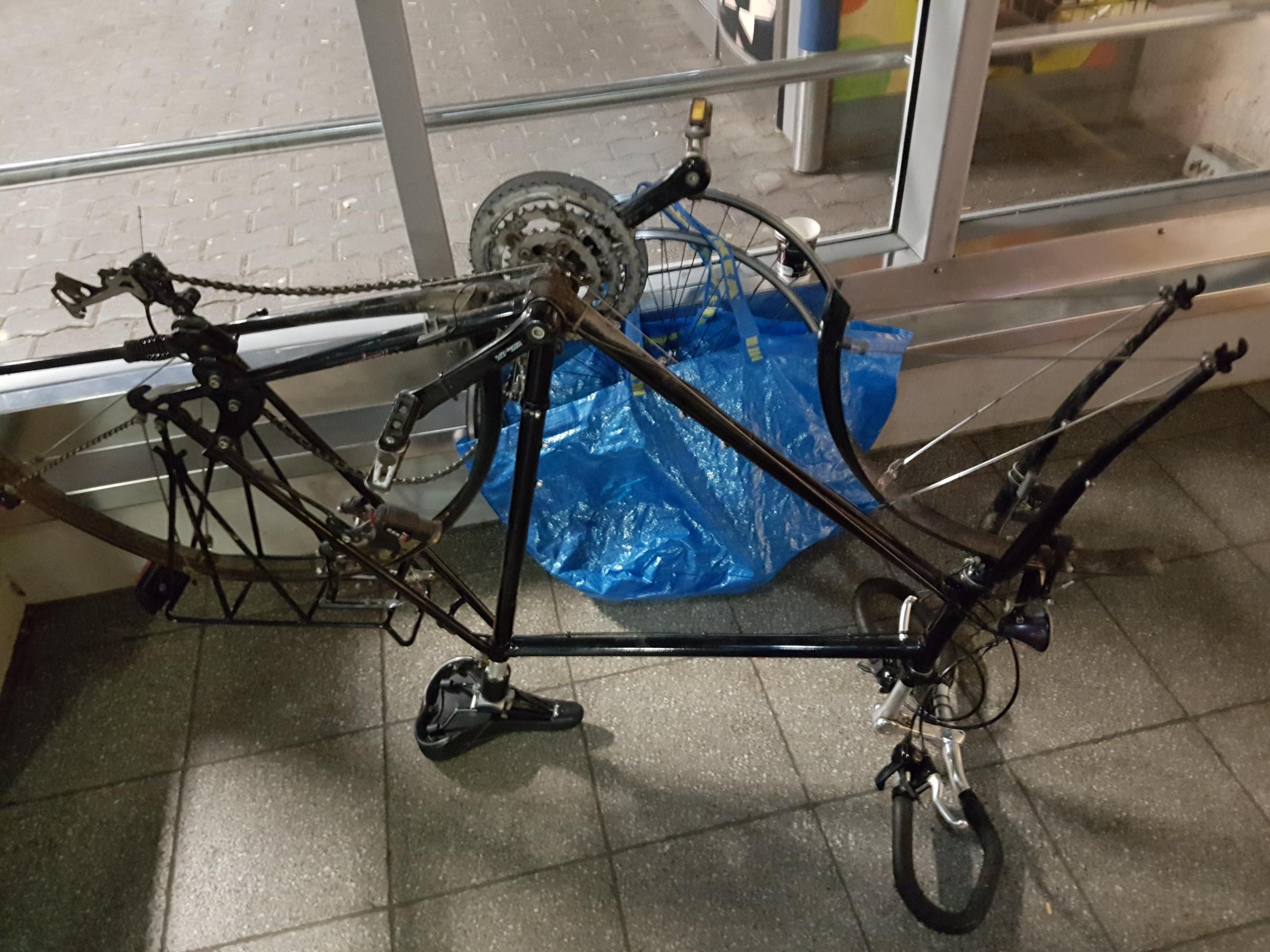 Ungewöhnlich Aufbau Eines Fahrradrahmen Von Grund Auf Neu ...
