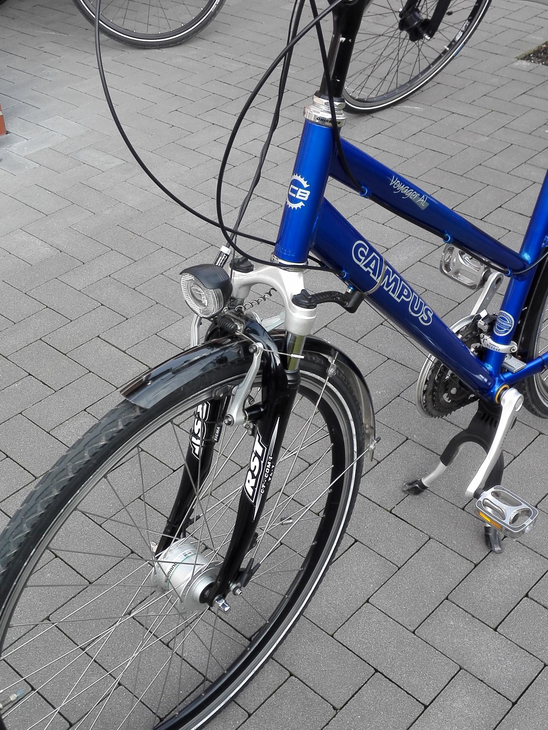 BIETE] Campus Voyager AL (2003) ; RH 52; Trapezrahmen - Fahrrad ...