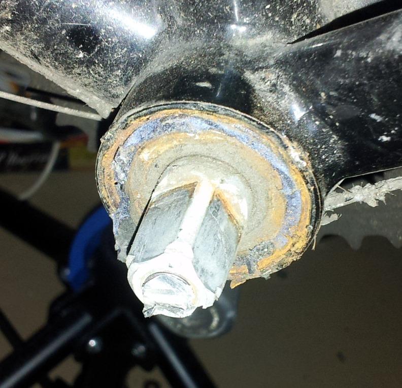 Fahrrad Verschlussring Entferner Kurbel Tretlager Reparatur Schraubenschlüssel
